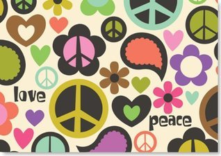 Peace Out Note Cards Inc. Peter Pauper Press