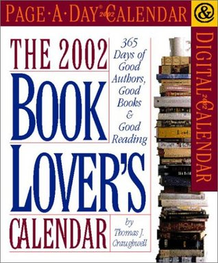 The Book Lovers Page-A-Day Calendar 2002  by  NOT A BOOK