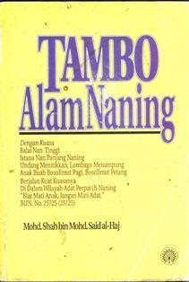 Tambo Alam Naning  by  Mohd Shah Bin Mohd Said al-Haj