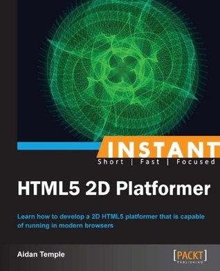 Instant HTML5 2D Platformer Aidan Temple