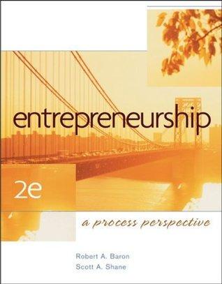 Entrepreneurship Robert A. Baron