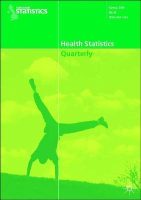 Health Statistics Quarterly No 29, Spring 2006 The Office for National Statistics
