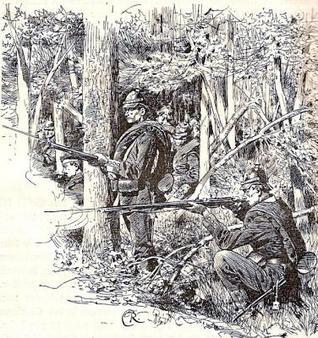 The Battle of Koniggratz  by  Beauchamp Walker
