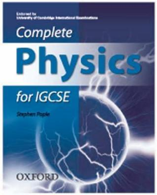 Complete Physics For Igcse Stephen Pople