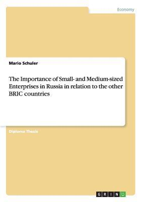 The Importance of Small- And Medium-Sized Enterprises in Russia in Relation to the Other Bric Countries  by  Mario Schuler
