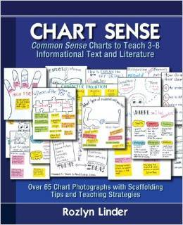 Chart Sense: Common Sense Charts to Teach 3-8 Informational Text and Literature Rozlyn Linder