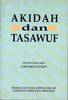 Akidah Dan Tasawuf  by  Zakaria Stapa