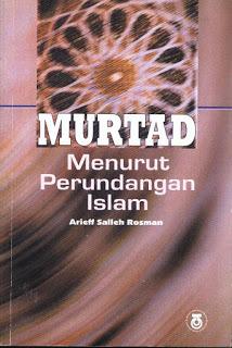 Murtad Menurut Perundangan Islam Arieff Salleh Rosman