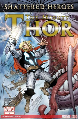 The Mighty Thor #9  by  Matt Fraction