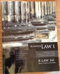 Business Law I Introduction to Contracts, Liability Issues, and Intellectual Property  by  Marisa Pagnattaro