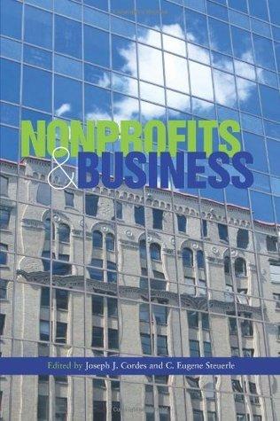 Nonprofits And Business Joseph J. Cordes