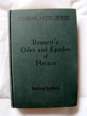 Odes and Epodes (College Latin Series)  by  Horace