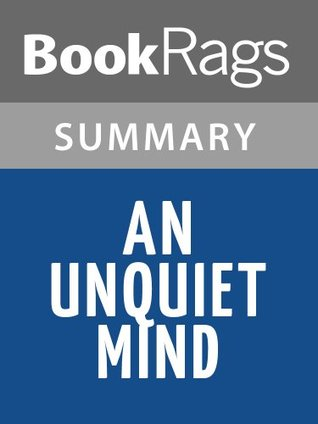 An Unquiet Mind Kay Redfield Jamison l Summary & Study Guide by BookRags