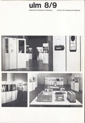 Ulm - Journal of the Ulm School for Design: The Complete Reprint of All 21 Issues (1958-1968)  by  Rene Spitz