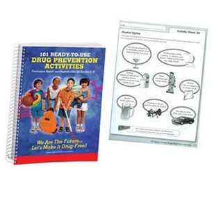 101 Ready-to-Use Drug Prevention Activities: Curriculum Based and Reproducible for Grades 2-6  by  Unknown