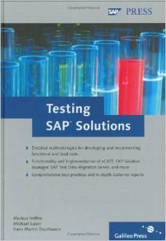 Testing SAP Solutions Markus Helfen