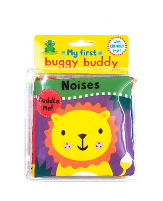 Noises: A Crinkly Cloth Book for Babies! Jo Moon