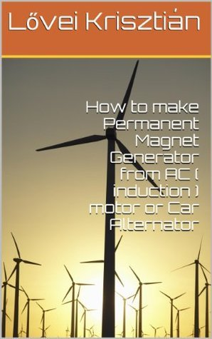 How to make Permanent Magnet Generator from AC ( induction ) motor or Car Alternator  by  Lovei Krisztian