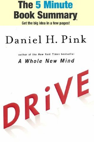 Drive: The Surprising Truth About What Motivates Us  by  Daniel H. Pink (The 5 Minute Book Summary) by ReadSmartly