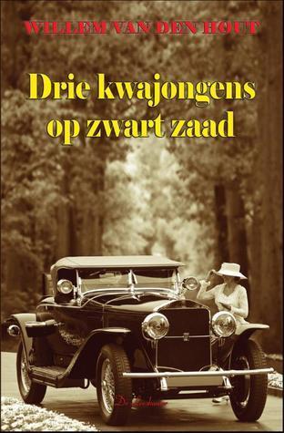 Drie kwajongens op zwart zaad Willem van den Hout