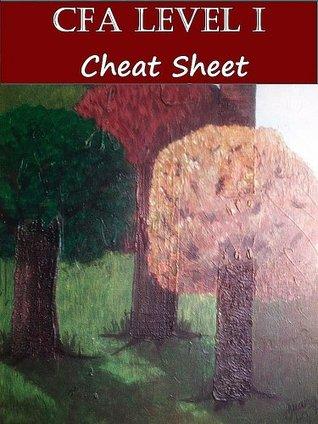 CFA Level I - Cheat Sheet  by  T. Smith