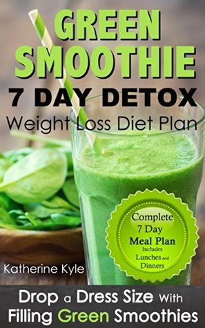 7 Day green smoothie weight loss diet plan: Drop a dress size with filling green thickies detox Katherine Kyle