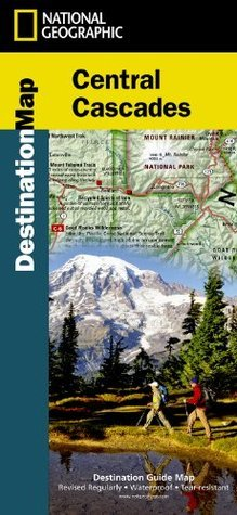 Central Cascades Destination Guide Map National Geographic Maps