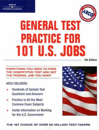 Arco General Test Practice for 101 U. S. Jobs, 5th Edition Hy Hammer