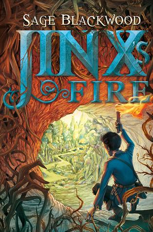 Jinxs Fire (Jinx #3)  by  Sage Blackwood
