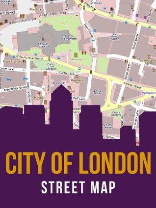 City of London Street Map  by  eReaderMaps