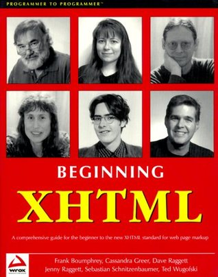 Beginning XHTML  by  Frank Boumphrey