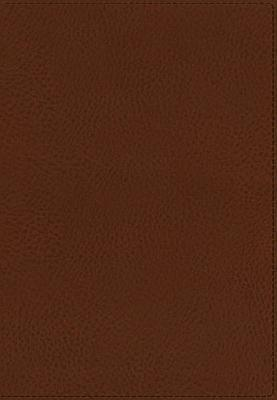 KJV, UltraSlim Reference Bible, Imitation Leather, Brown, Center Column, Indexed Thomas Nelson Publishers