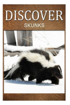 Skunks- Discover: Early Readers Wildlife Photography Book Discover Press