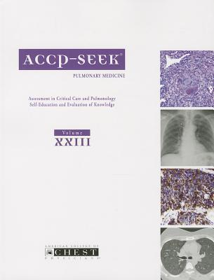 Accp-Seek Pulmonary Medicine 2013, Vol 23 Stephanie M. Levine