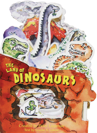 The Land of Dinosaurs: A Mini-House Book Peter Lippman