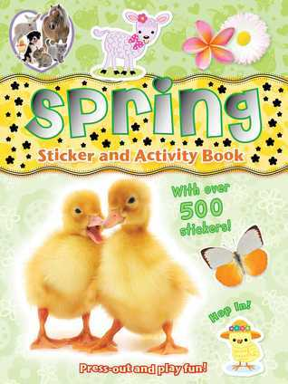 Spring Sticker and Activity Book Gemma Cooper