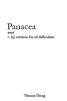 Panacea  by  Wennie Hong