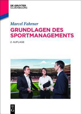 Grundlagen Des Sportmanagements Marcel Fahrner