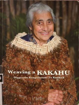 Weaving A Kakahu  by  Diggeress Te Kanawa