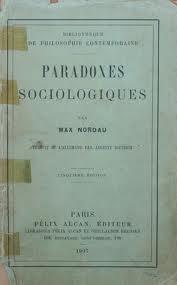 Paradoxes Sociologiques  by  Max Nordau
