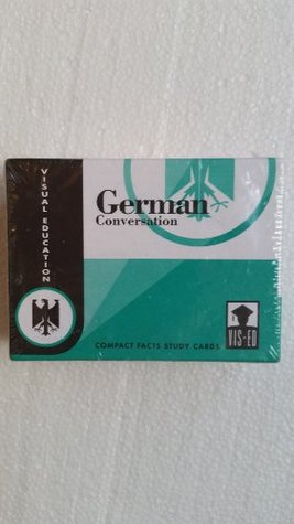 German Conversation Cards: Compact Facts Visual Education