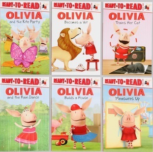 Olivia Ready-to-read Pack #2: Six Book Set Alex Harvey