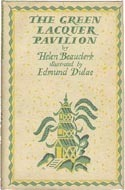 The Green Lacquer Pavilion  by  Helen Beauclerk