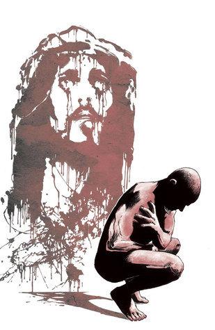 Miniature Jesus #4  by  Ted McKeever