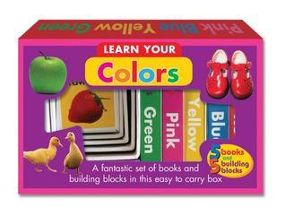 Learn Your Colors: A fantastic set of books and building blocks in this easy to carry box The Book Company Editorial