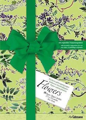 Gift Wrap Paper Flowers H.F. Ullmann