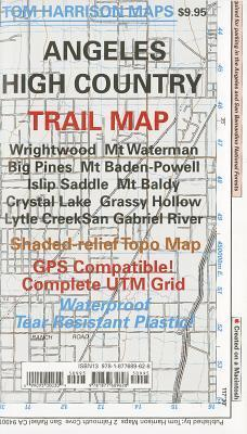 Trail Map Angeles High Country Map  by  Tom Harrison