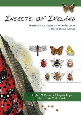 Insects of Ireland: An Illustrated introduction Irelands Butterflies, Ladybirds, Shieldbugs, Ants and other groups  by  Stephen McCormack