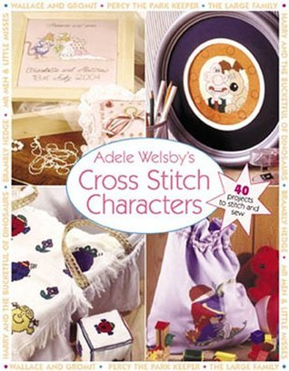 Adele Welsbys Cross Stitch Characters Adele Welsby