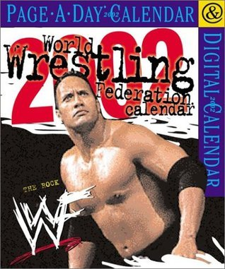 World Wrestling Federation Page-A-Day Calendar 2002 NOT A BOOK